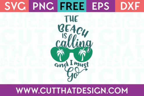 Free Summer SVG Cutting FIles