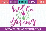 Free spring svg