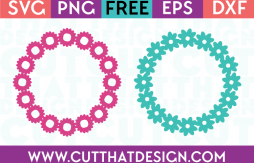 Free spring summer svg cutting files