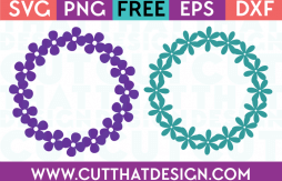 Flower monogram svg free