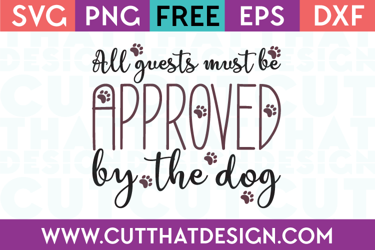 Free SVG Wordart Dog