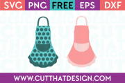 Free Apron SVG Cuts