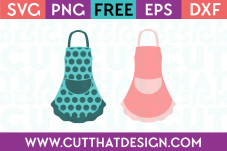 Free Apron SVG Cuts