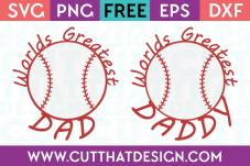 Free baseball svg