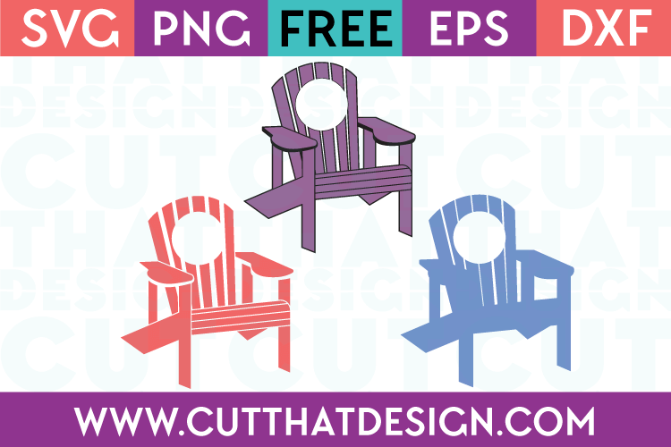 Adirondack Free SVG Chair Monogram