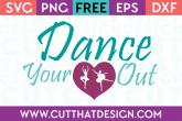 Free Dance Quote SVG File