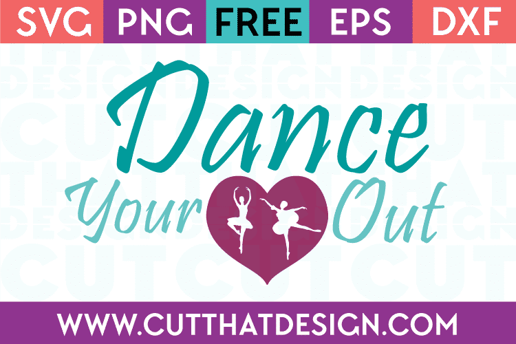 Free Dance Quote SVG File