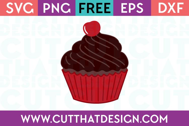 Cupcake SVG File Free