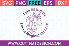 Free Unicorn SVG