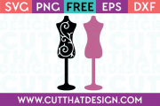 Sewing SVG Dresses