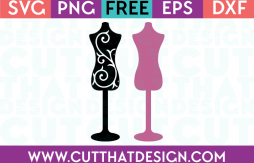 Sewing SVG Dresses