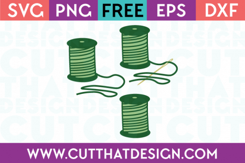 Cotton Reel SVG