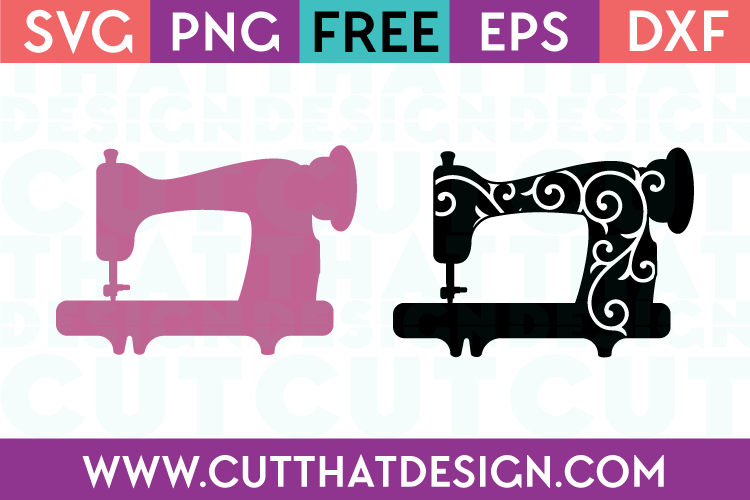 Sewing Machine SVG Files