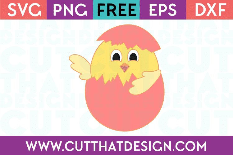Easter chikc svg free