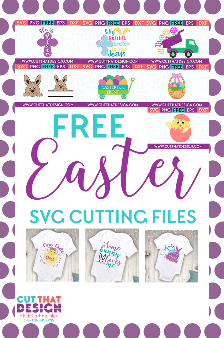 Cute easter svg files