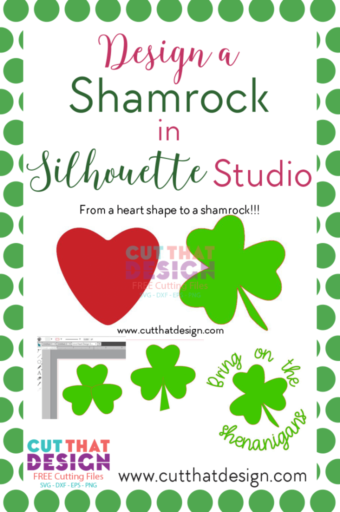 Free Shamrock SVG Cutting File