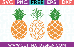 Pineapple svg free cut file