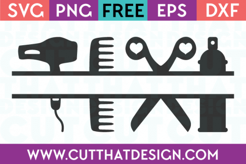 Hairdresser free svg cut files