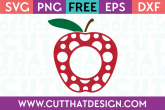 Teacher apple svg free