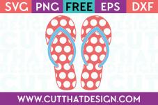 Cut That Design Flip Flop SVG