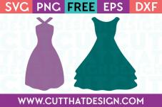 Cut That Design Wedding Dress SVG