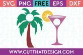 Cut That Design Summer Monogram Set 2 SVG