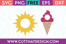 Cut That Design Summer Monogram SVG