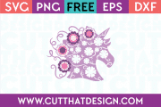 free unicorn cut file