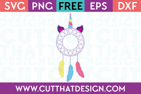 free unicorn svg cut file