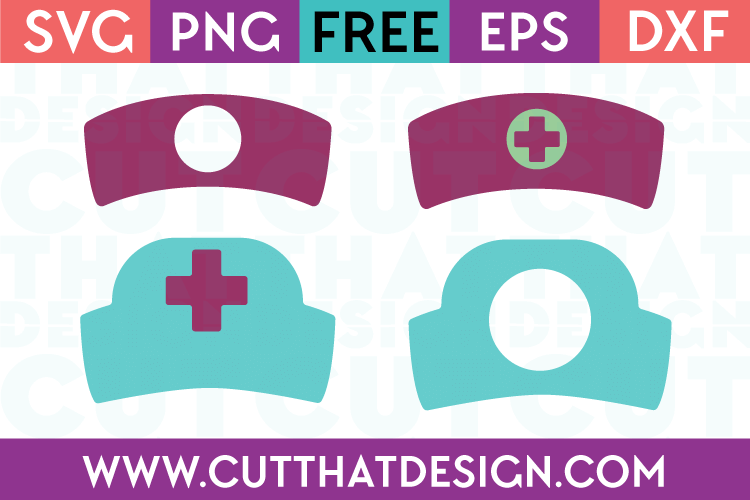 Cut That Design Nurse Hat SVG