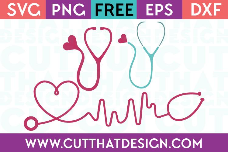 Cut That Design SVG Files Nurse Themed