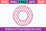 Cut That Design Cutting Files Circle Frames