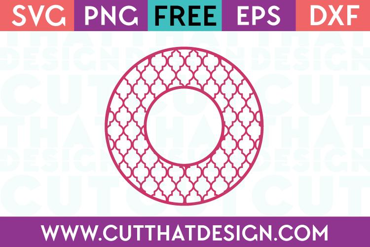 Cut That Design Cutting Files Circle Frames