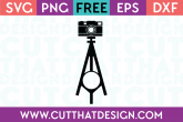 Photography SVG Cutting Files Free