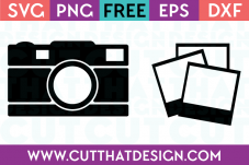 Free SVG Cutting Files Photography Monogram Designs