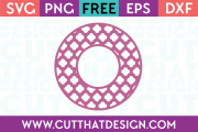 Cut That Design Free SVG Files for Download Circle Frames
