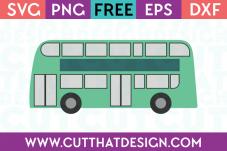 Cut That Design Free Bus SVG Cutting File