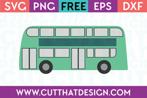 Cut That Design Free Bus SVG Cutting File