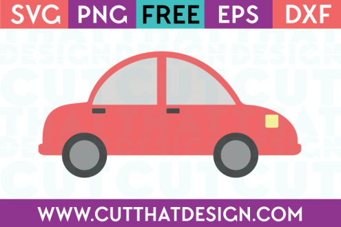 Free Car SVG Cut That Design