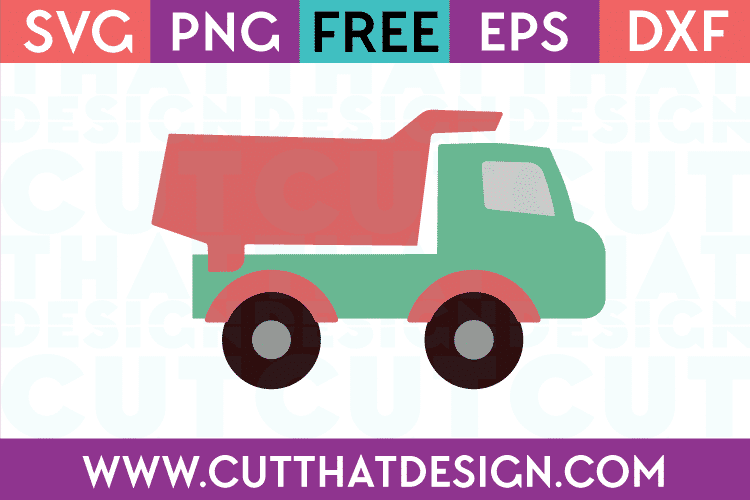 Free Dump Truck Svg Cutting File
