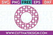 Cut That Design SVG Cutting Files Free Circle Frames