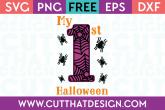 Cut That Design Halloween SVG Files Spider