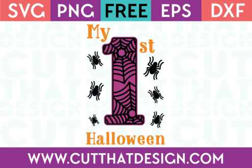 Cut That Design Halloween SVG Files Spider