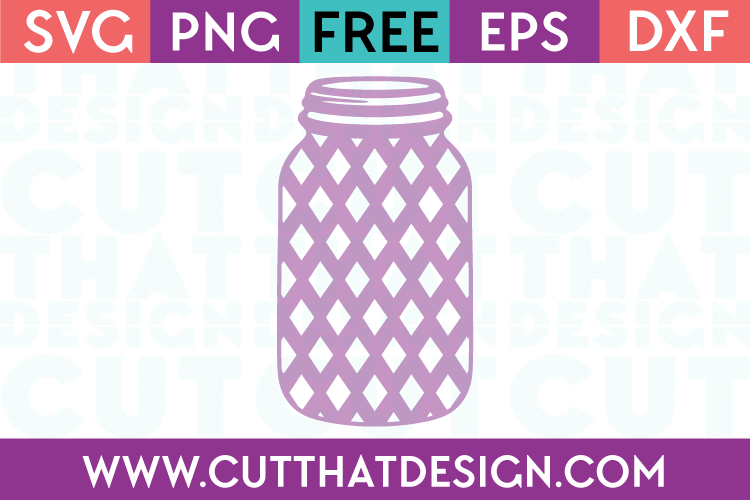 Mason Jar SVG Cutting Files