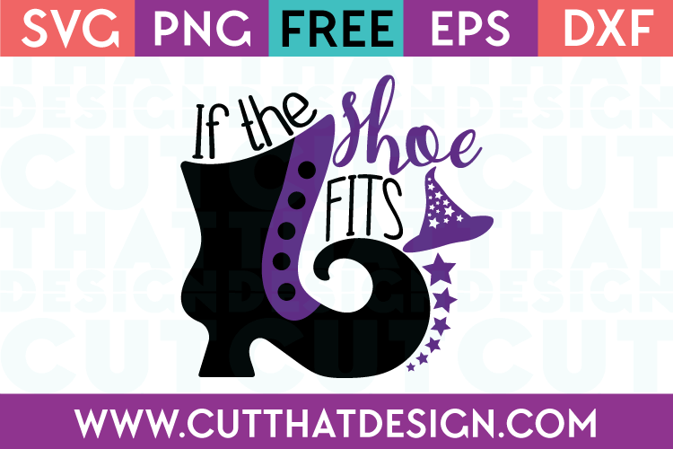 Witch Shoe SVG