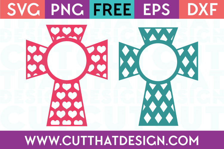 SVG Monogram Crosses