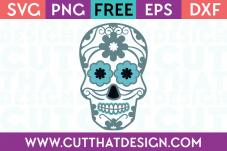 free sugar skull svg