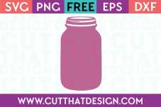 Cut That Design Mason Jar SVG Free