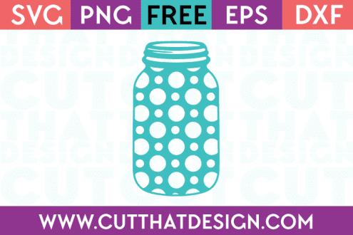 Free mason jar cut file