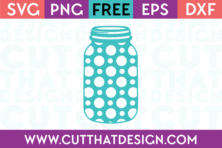 Free mason jar cut file